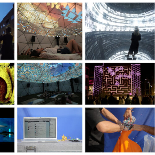 Audiovisual Installations - Audiovisual City and The Revels Office workshop