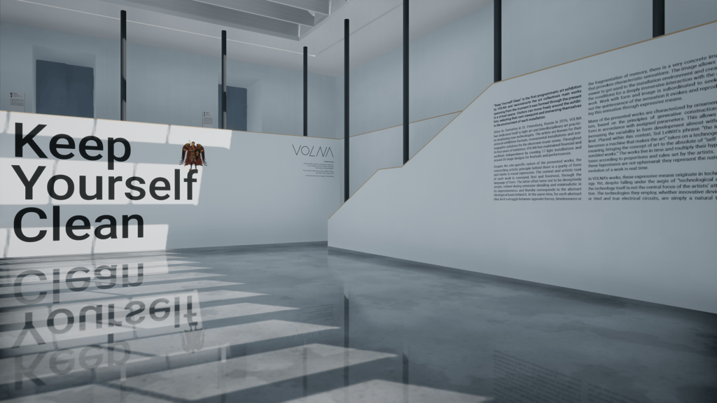 Keep Yourself Clean Exhibition - Audiovisual Event