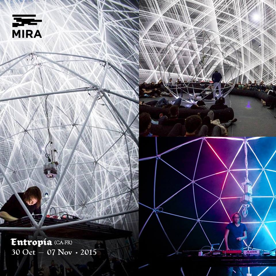 MIRA Festival – Surrounding audiovisual adventure