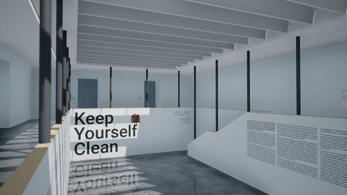 KEEP YOURSELF CLEAN Exhibition: Online