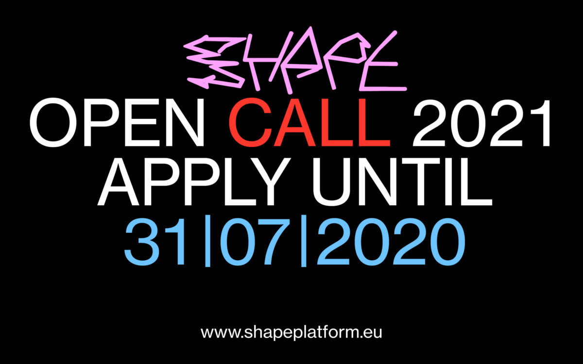 SHAPE 2021 – Open Call
