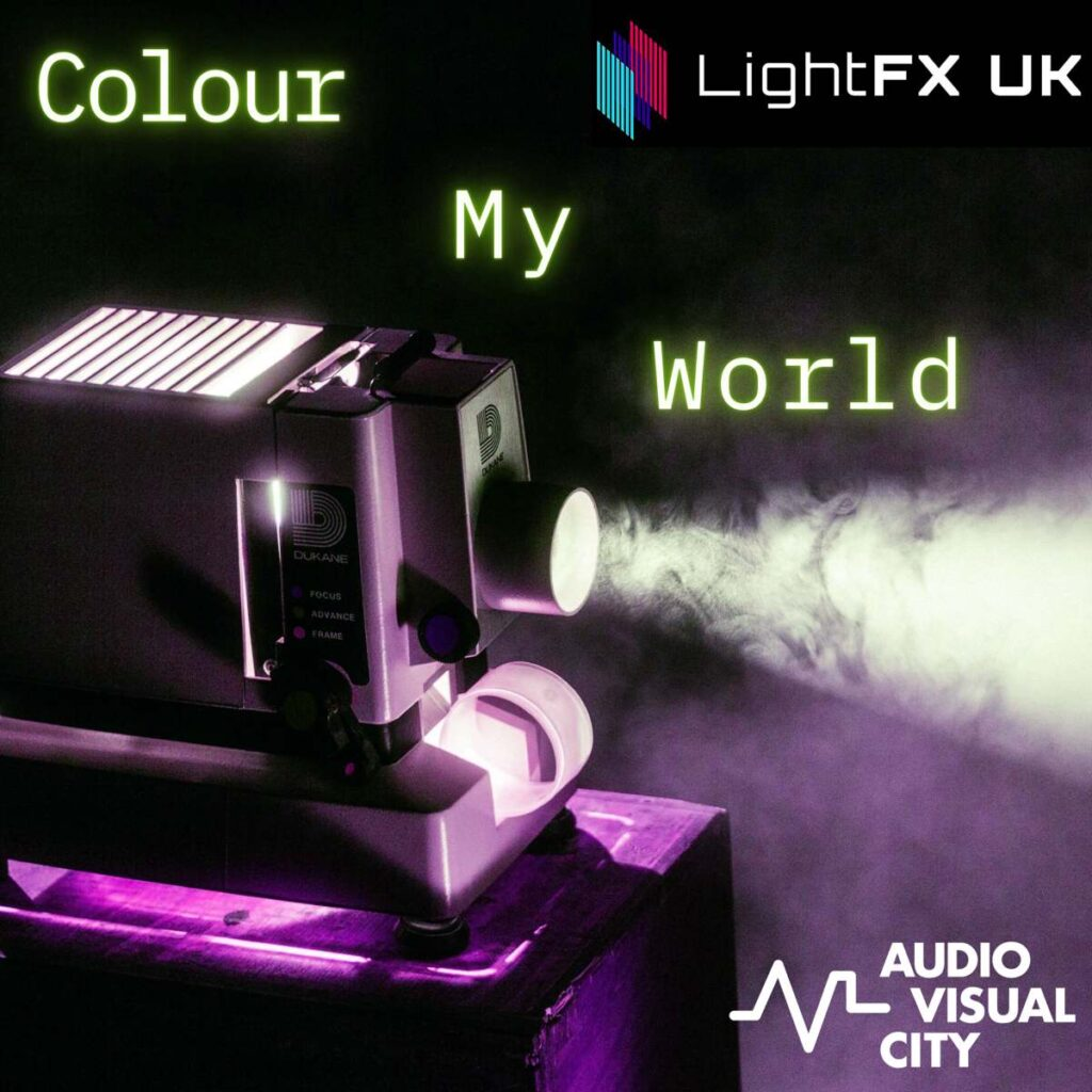 Colour my world Podcast - Projection mapping